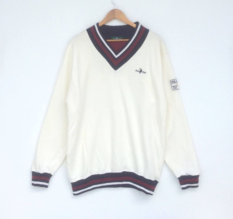fa1541a47 Polo Club Sweatshirt Stripe Multicolour Sweat Large Size