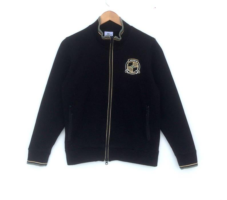 63e659c17db Pull Lacoste Logo or petite taille veste Casual Sweat pull