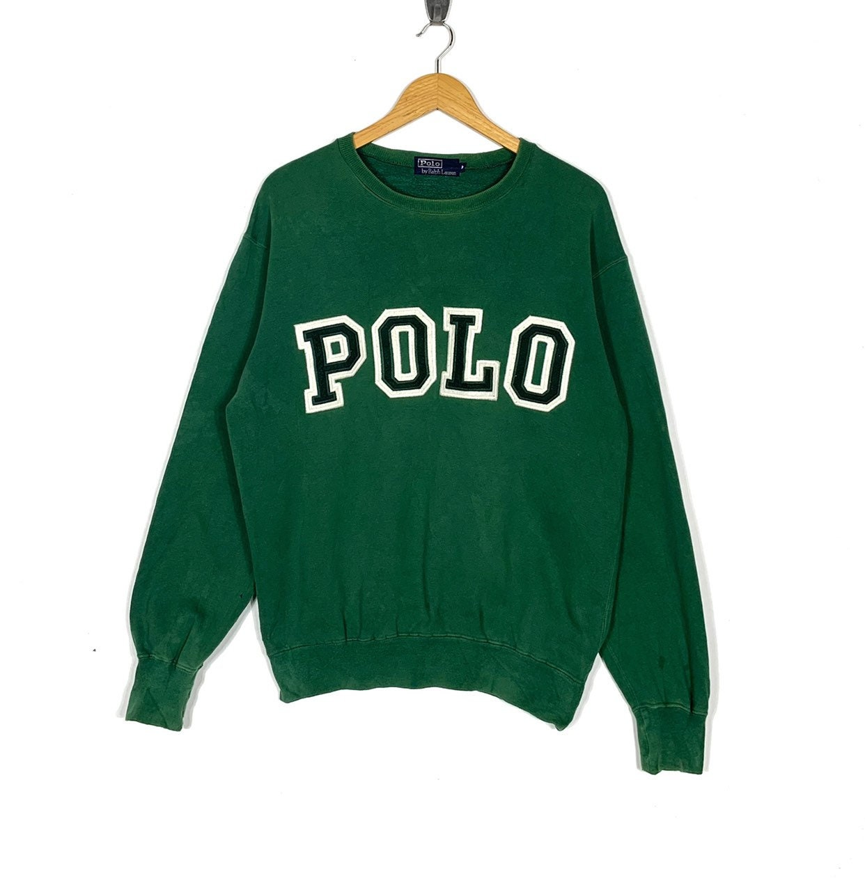 980152270 Polo Ralph Lauren Sweatshirt Spell Out Big Logo Embroidery