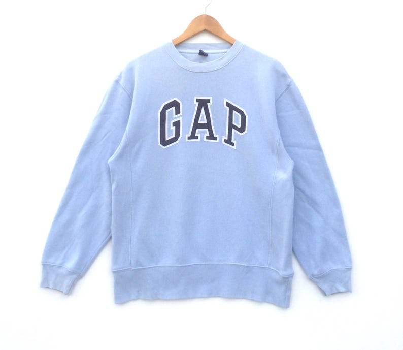 3b7a7172e Gap Sweatshirt Big Logo Blue Colour XLKids Size Jumper