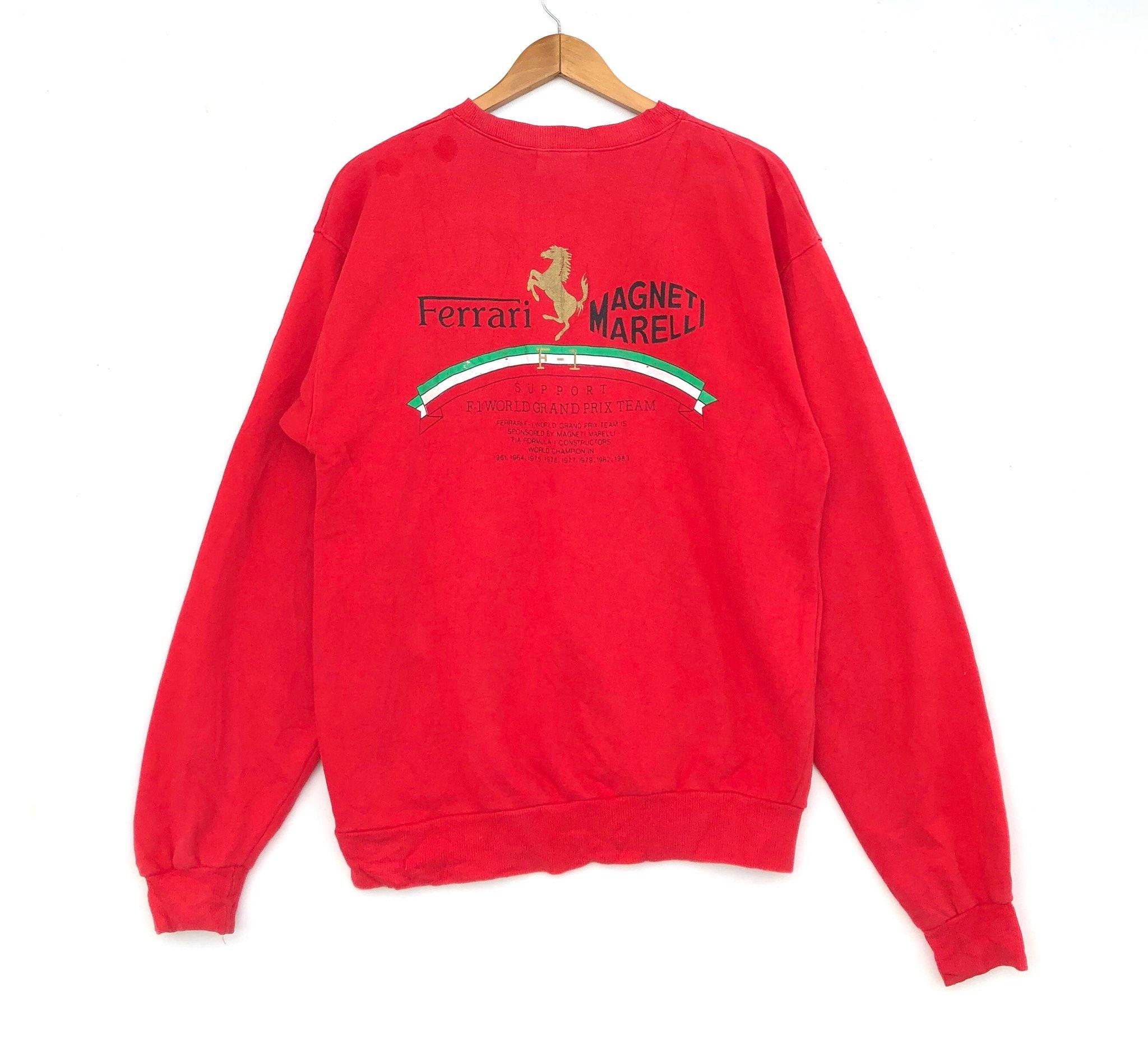 Ferrari Red Logo Sweatshirt