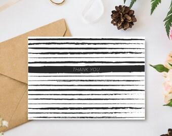 Printable Thank You Card / printable greeting card, thank you card, printable cards, thank you notes, printable notes, greeting cards