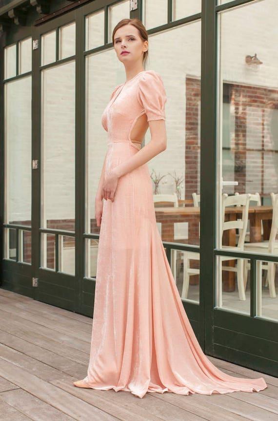 My Fair Lady Silk Evening Gown | Etsy