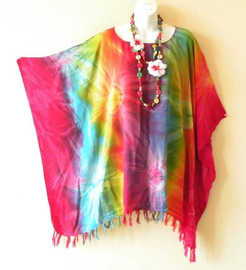 2b19760a4d Tie Dye Batik Plus Size Kimono Kaftan Caftan Women Batwing | Etsy