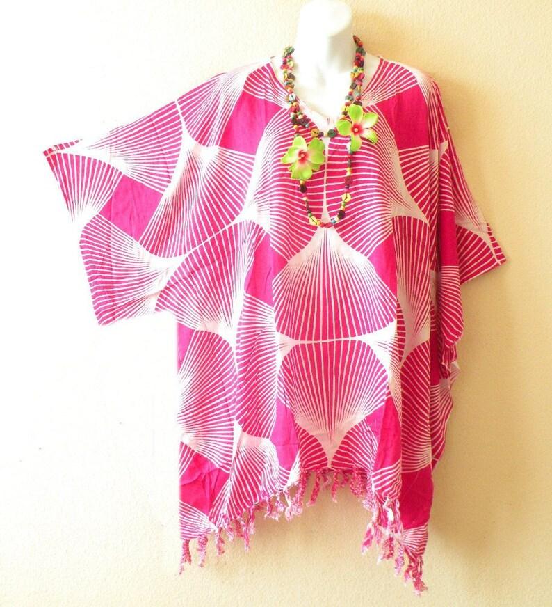 487a898549 Batik Abstract Rayon Plus Kaftan Caftan Kimono Beachwear | Etsy
