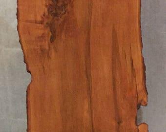 Kitchen island top (canadian maple live edge wood slab)