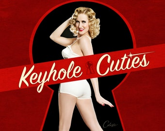 Keyhole Cuties: The Pin-up Art of Celeste Giuliano