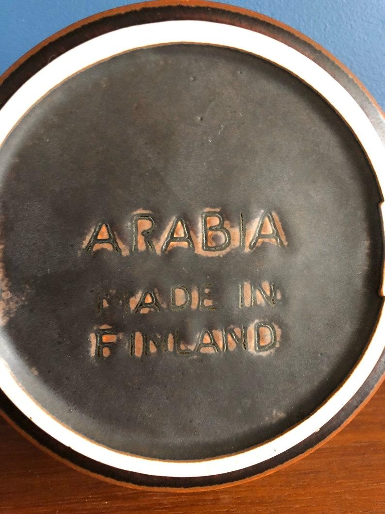 Arabia Finland ashtray Ruska to design of Ulla Procope