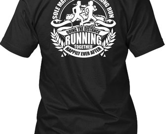 Going The Distance Running T Shirt, Being A Runner T Shirt