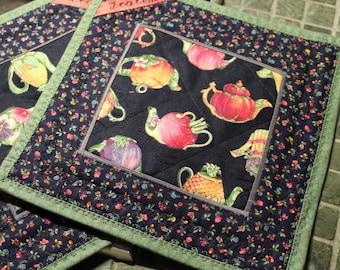Top flaps for tea drinkers, tea connoisseurs