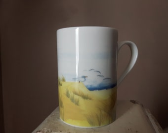 Scandolet Home Scene by the Sea Mug China Made in Germany