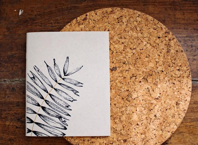 Sketch Booklet Fern Screen Printing