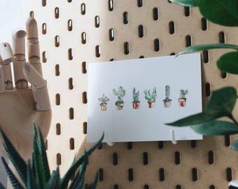 Postkarte     Kaktusliebe