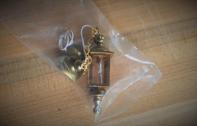 Dollhouse Miniature 1:12 Scale Large Cast Iron Hanging Pot