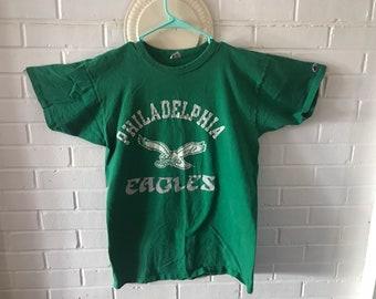 Vintage Philadelphia Eagles Graphic Tee - Large - Champion Brand - Used  Great condition 9350926ec