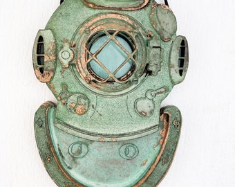 Mark V Dive Helmet Ornament - Nautical - Steampunk - Christmas Tree ornament