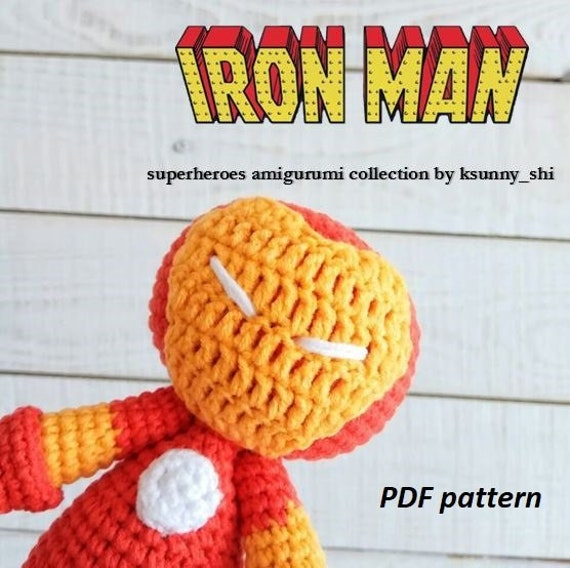 Iron Man FREE Pattern – Lemon Yarn | 568x570