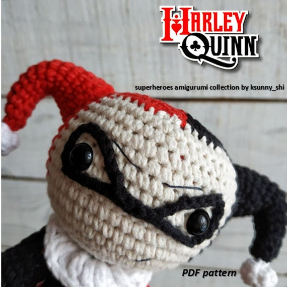 Amigurumi Harley Quinn   570x570