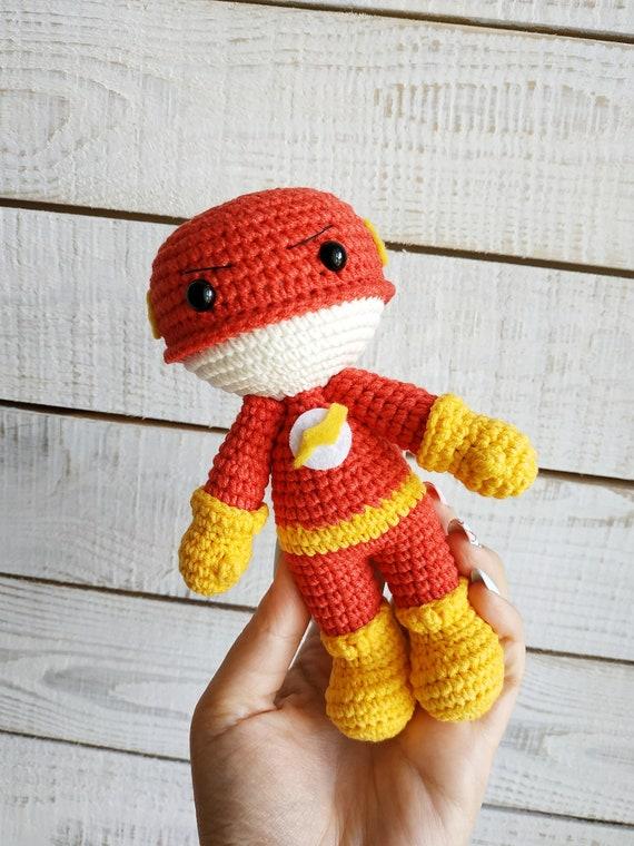 Crochet Amigurumi Palm-sized Baby Flash, Design & Craft, Handmade ...   760x570