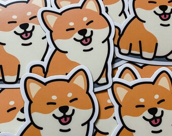 Dog Stickers & Magnets