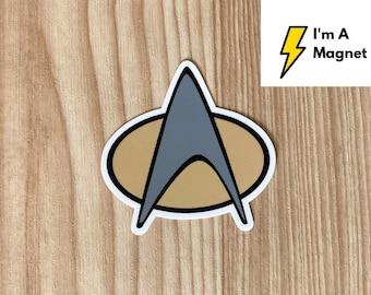 Communicator TNG Trek Inspired Fan Art Magnet