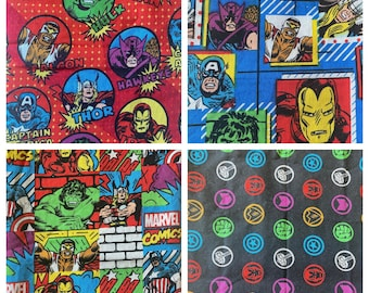 Marvel Hero Avengers Choose Your Pattern Double Layered 100% Cotton Face Mask With Pocket For Filter Insert And Removable Nose Wire
