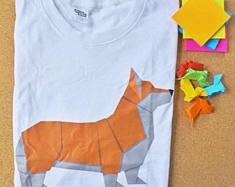 Corgi T-shirt/Dog lover T-shirt/Dog T-shirt/T-shirt