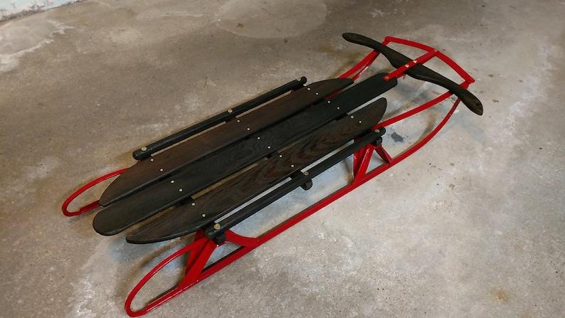 Restored Antique Flexible Flyer Sled Etsy