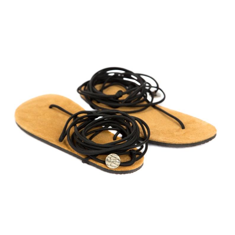 2579b9745e5e Brown Handmade Flat Gladiator Sandals Leather sandals Womens