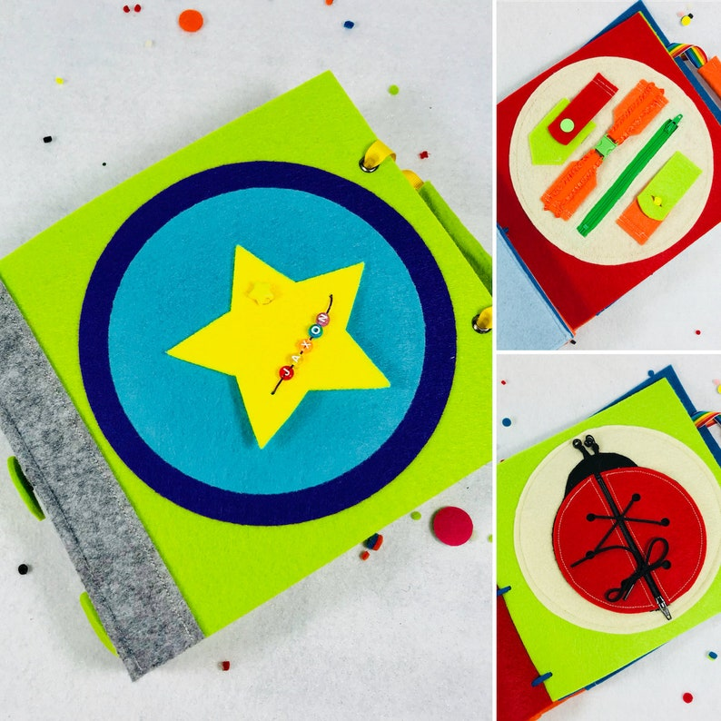 Busy Book For 3 Year Olds Etsy