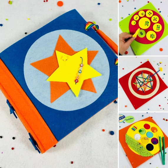 Ready To Ship Birthday Gift For 2 Year Old Boy Busy Book