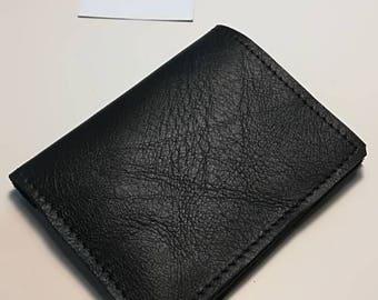 Wallet for men/women minimal, in Italian leather