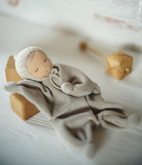 Handmade Waldorf Rag Doll for Children from 6 Months
