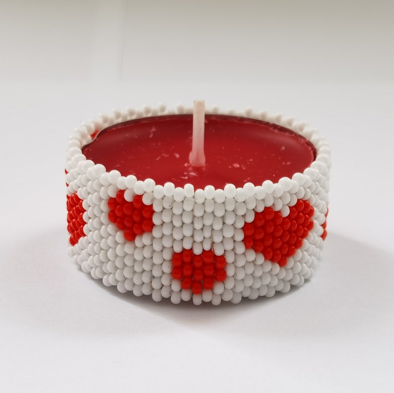 Tealight Candle Cover Holders Special Gift Valentines Day Valentines Day Gift Handmade Tea Light Holders with Heart Girlfriend Wife Her