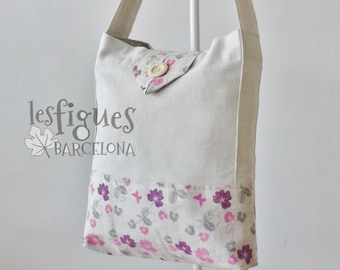Tote Bag, Shoulder bag, XL Bag, Handbag, Linen Bag, Big Tote Bag, Shopping bag