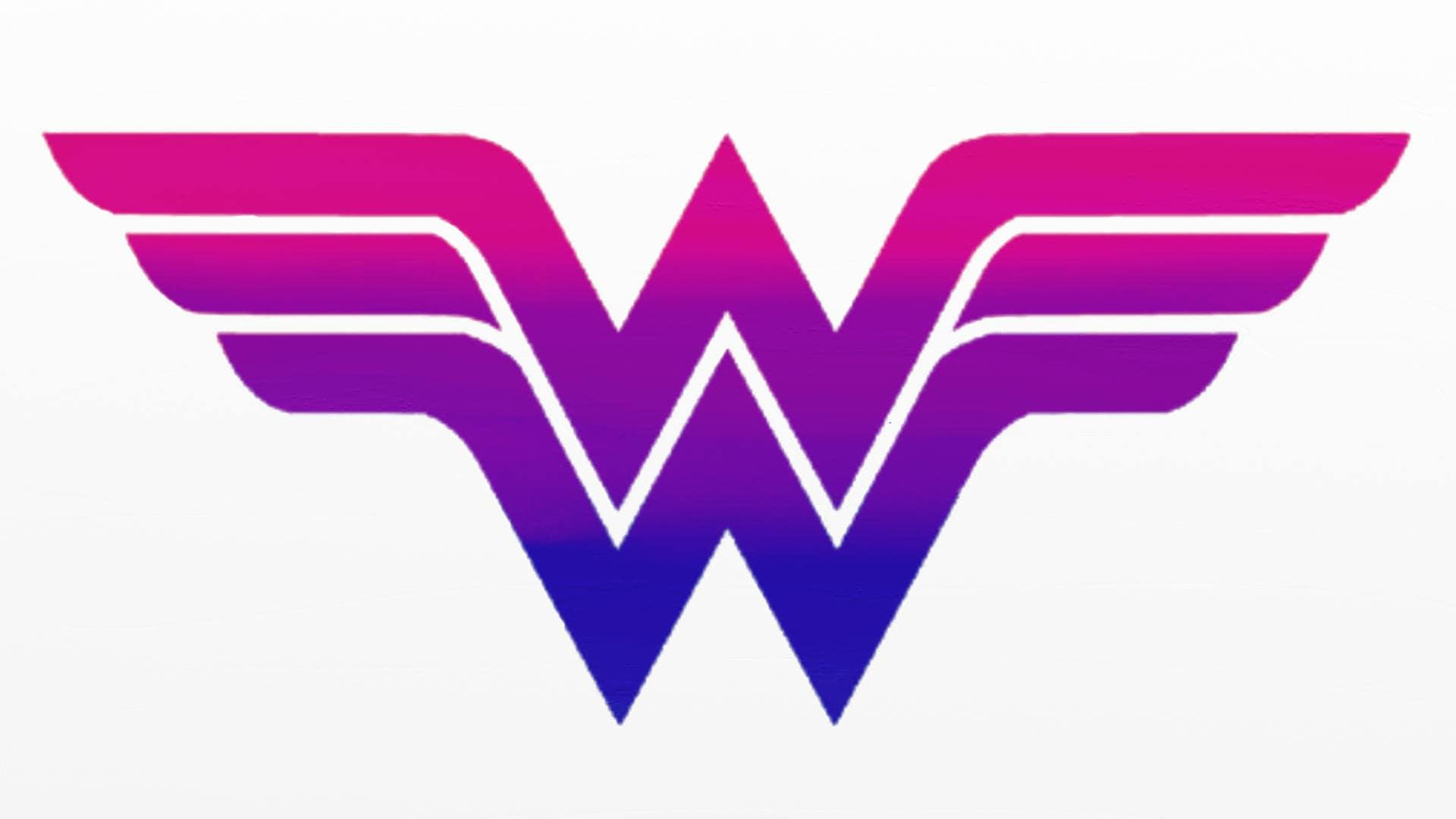 Bisexual Wonder Woman Graphic Design Use As Desktop Etsy