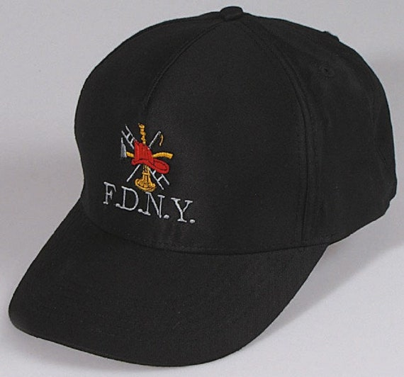 b6d4e643cef25 Cap with embroidery F.D.N.Y. fire Brigade 68288
