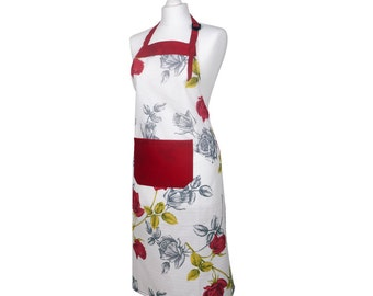 Apron Red Roses