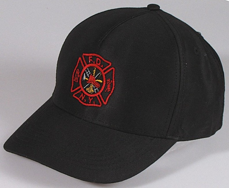 4f8df9bfeff56 Cap with embroidery F.D.N.Y. fire Brigade 68286