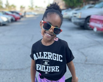 3 Styles - Allergic to Failure Kids Youth Shirt