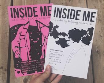 Inside Me Vol 2 - a poetry & prose zine for mental health arts