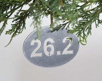 26.2 Full Marathon Ornament