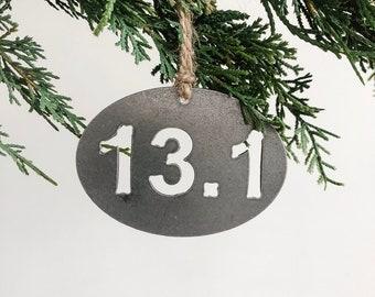 13.1 Half Marathon Ornament