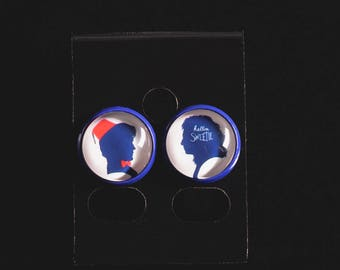 Doctor Who inspired Earrings River Song and The Doctor