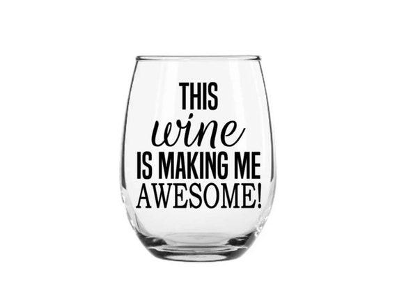 wine glass decal Wine o/'clock somewhere decal tumbler decal wine decal