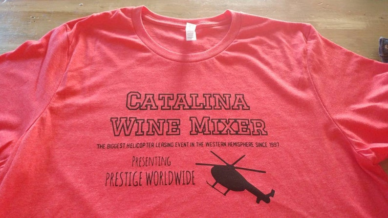 201e2289b Catalina Wine Mixer Shirt Step Brothers shirt Will Ferrell | Etsy