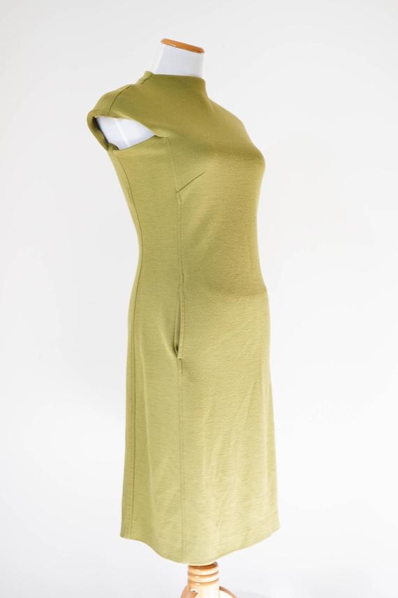 70s Dress / Vintage Dress / Vintage Green Dress /