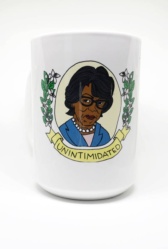 15 oz Mug | Maxine Waters | UNINTIMIDATED