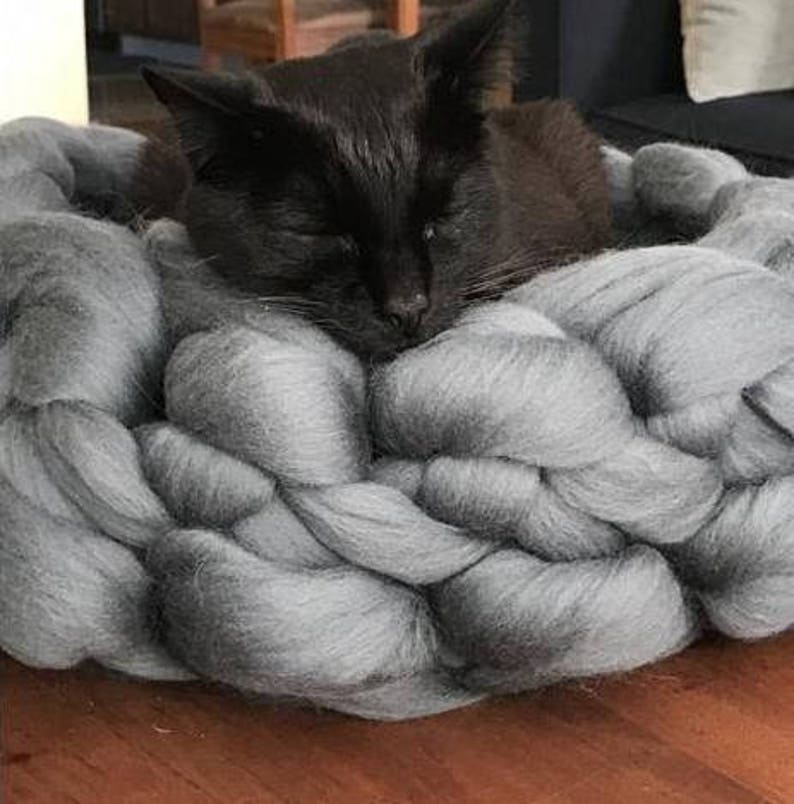 Cat Gift Pet Blanket Cat Bed Cave Cat Bed Cat Blanket Cat Furniture Cat Accessories Pet Bedding Wool Cat Bed Cat Cave Cat Bedding