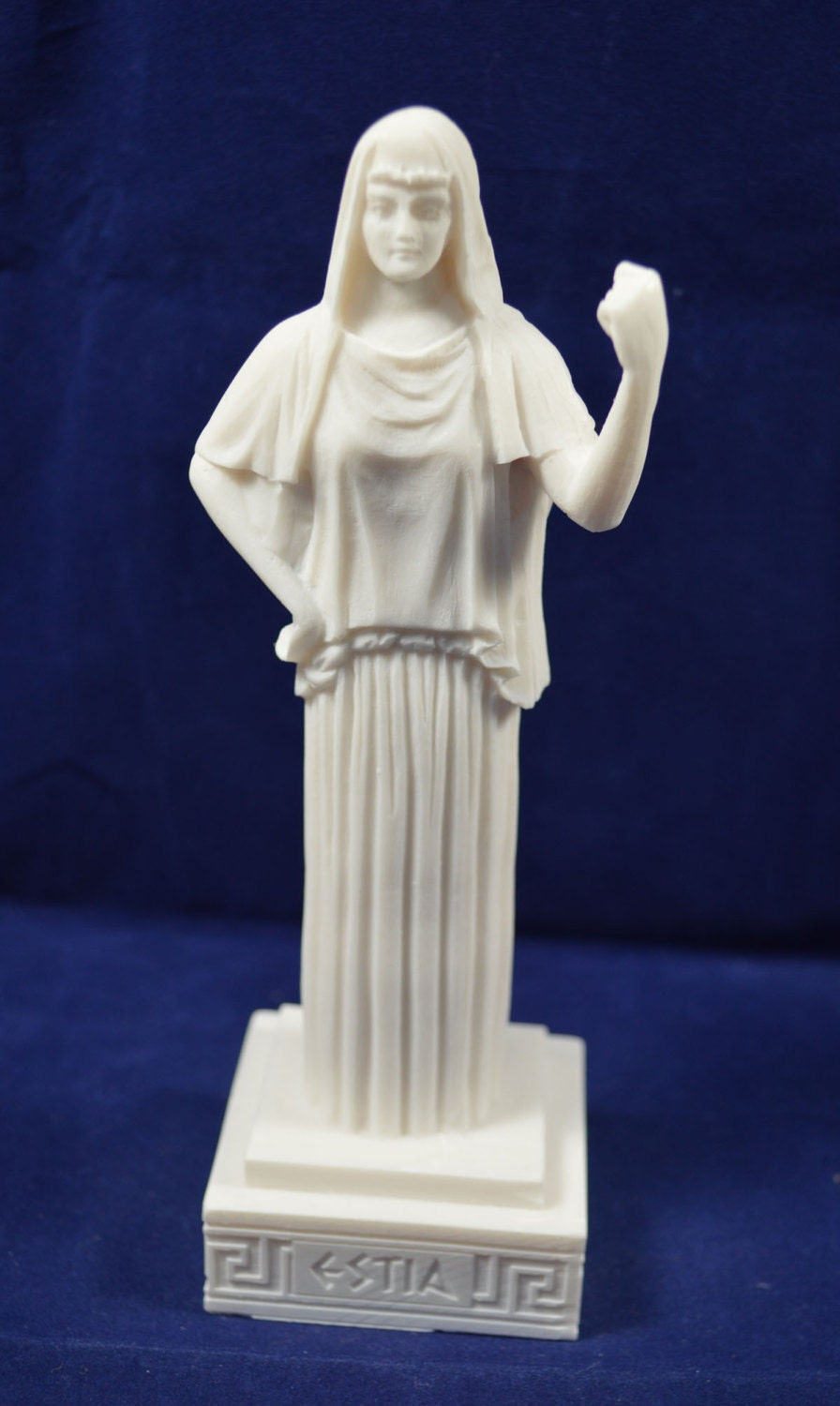 Hestia sculpture statue ancient Greek Goddess of the   Etsy